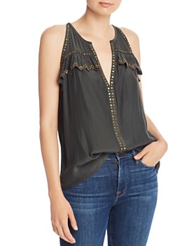 Ramy Brook - Mae Studded Trapeze Top