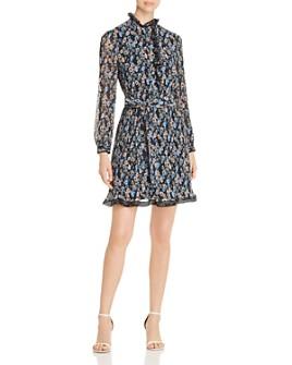 Tory Burch - Deneuve Floral-Print Plissé Dress