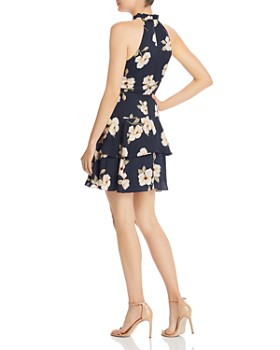 BB DAKOTA - Garden Tiered Fit-and-Flare Dress