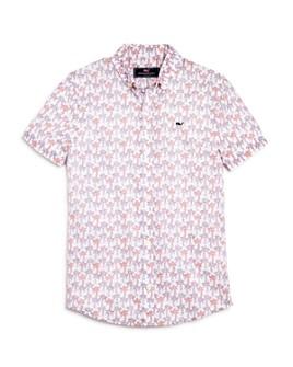 Vineyard Vines - Boys' Palm Tree Shirt - Little Kid, Big Kid