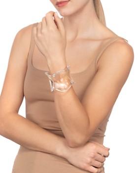 Alexis Bittar - Wavy Lucite Cuff Bracelet