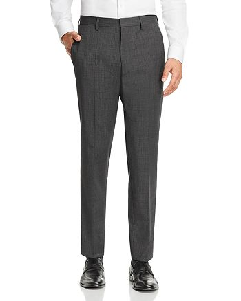 BOSS - Genesis Tic Weave Slim Fit Dress Pants