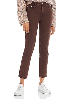 Paige Jeans HOXTON SLIM JEANS IN VINTAGE TRUFFLE