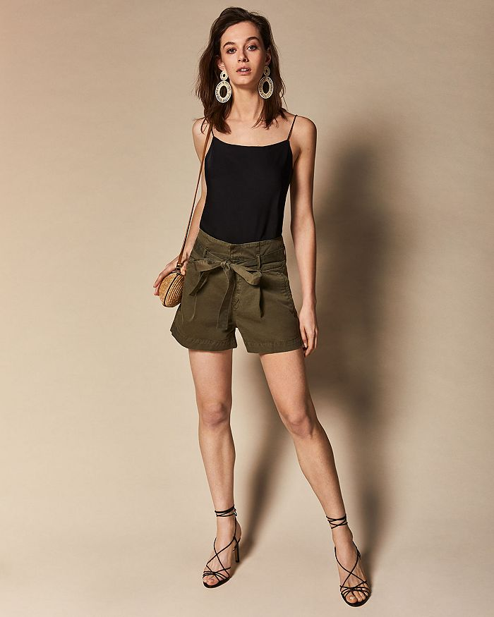DL1961 - Theory Teah Camisole Top,  Camile Paper-Bag Waist Shorts & More