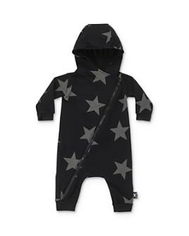 NUNUNU - Unisex Star Hooded Playsuit - Baby