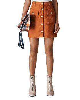 Whistles - Linen Mini Skirt