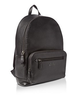 Polo Ralph Lauren - Pebbled Leather Backpack