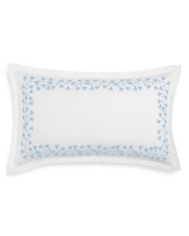 """Sky - Floral Embroidered Decorative Pillow, 14"""" x 24"""" - 100% Exclusive"""