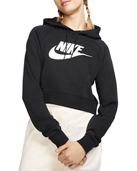 Nike - Essential Cropped Hooded Sweatshirt