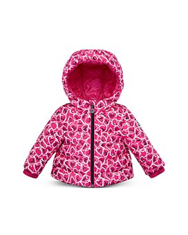 Moncler - Girls' Heart & Logo Puffer Coat - Baby, Little Kid