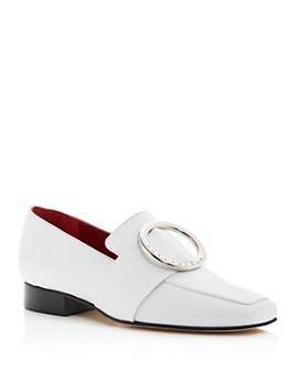 Dorateymur - Women's Harput Square Apron-Toe Loafers
