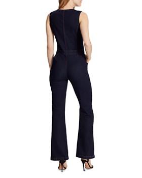 Ella Moss - Denim Vest Jumpsuit