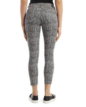 Mavi - Tess Leo Cropped Skinny Jeans in Gray Leopard