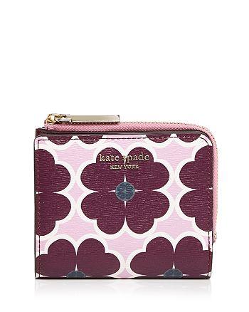 kate spade new york - Sylvia Clover Small Bifold Wallet