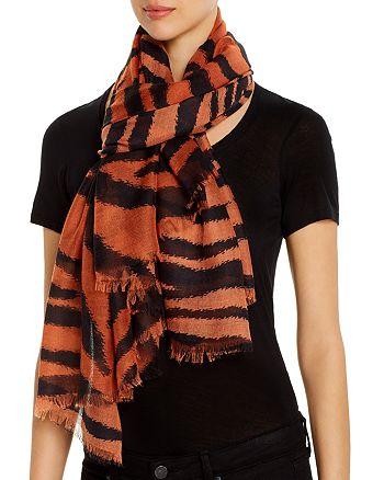 AQUA - Tiger-Stripe Scarf - 100% Exclusive