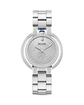 Bulova - Rubaiyat Pavé Diamond Dial Watch, 35mm
