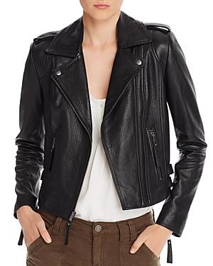 Joie Leolani Leather Moto Jacket-Women