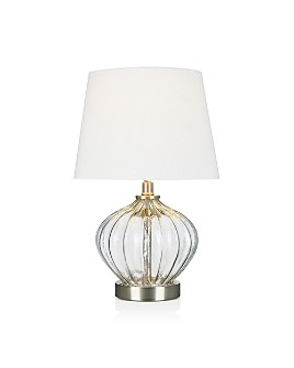 """Cresswell - Clear Glass Accent Lamp 16"""""""