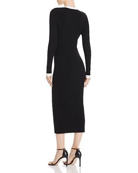 Ronny Kobo - Mirella Ribbed-Knit Bodycon Dress
