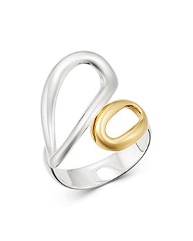IPPOLITA - 18K Yellow Gold & Sterling Silver Chimera Small Bypass Ring