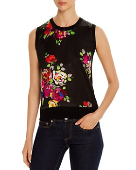 kate spade new york - Rare Roses Sleeveless Sweater
