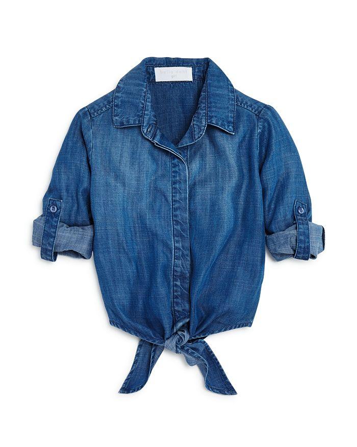 Bella Dahl - Girls' Tie-Front Shirt - Little Kid, Big Kid