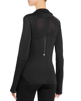 adidas by Stella McCartney - Performance Essentials Midlayer Mesh-Inset Jacket