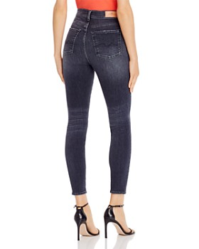 7 For All Mankind - Slim Illusion Skinny Ankle Jeans in Luxe Vintage Honest
