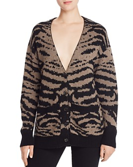 PAM & GELA - Tiger-Stripe Cardigan
