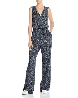 Bella Dahl - Snake Print Wide-Leg Jumpsuit - 100% Exclusive