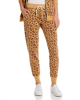 ALTERNATIVE - Leopard Print Fleece Jogger Pants - 100% Exclusive