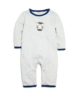 Albetta - Unisex Striped Zebra Coverall - Baby
