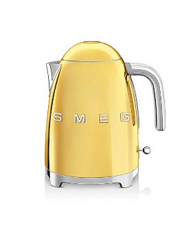 Smeg - '50s Retro Gold-Edition Variable Temperature Kettle - 100% Exclusive