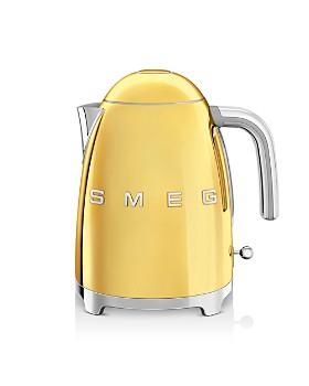 Smeg - '50s Retro Gold-Edition Variable Temperature Kettle