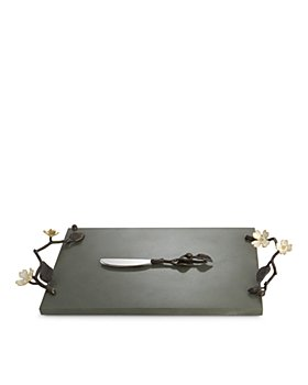 Michael Aram - Dogwood Cheese Board & Knife Set