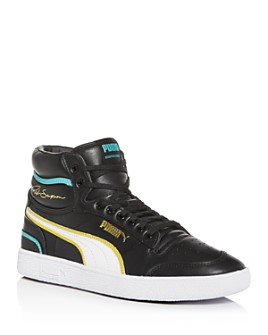 PUMA - Men's Ralph Sampson Leather Mid-Top Sneakers
