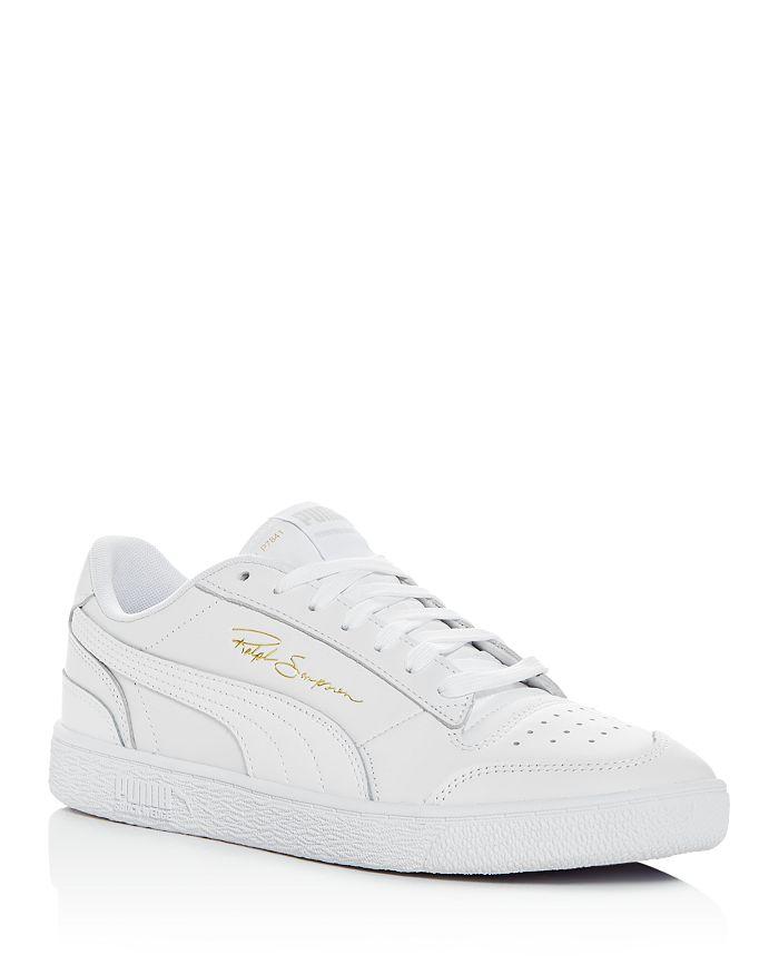 PUMA - Men's Ralph Sampson Leather Low-Top Sneakers