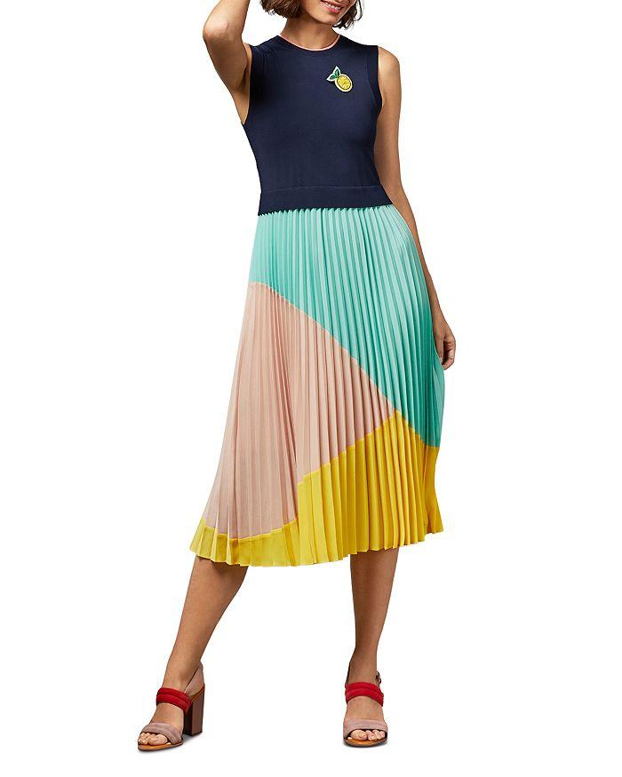 Ted Baker - Ophelea Sleeveless Color-Block Dress