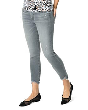 Joe's Jeans - Icon Cropped Distressed Jeans in Arlene