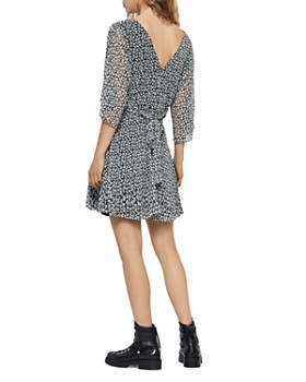 ALLSAINTS - Ivey Scatter Button-Front Dress