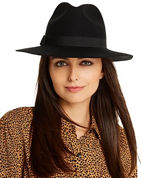 AQUA - Wool Fedora - 100% Exclusive