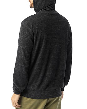 ALTERNATIVE - Terry Cloth Hooded Sweatshirt
