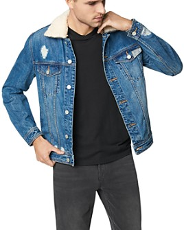 BLANKNYC - Removable Collar Denim Jacket in Honey Dripper