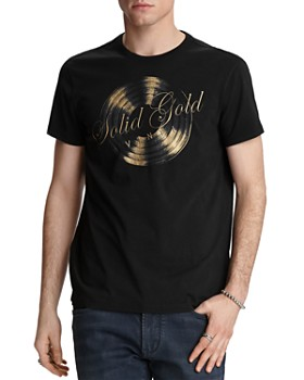 John Varvatos Star USA - Solid Gold Graphic Tee