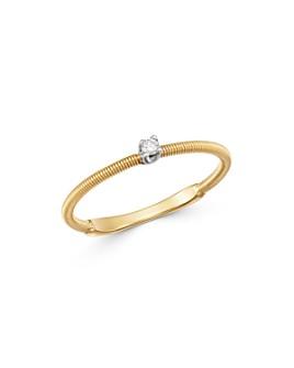 Marco Bicego - 18K Yellow & White Gold Bi49 Diamond Ring - 100% Exclusive