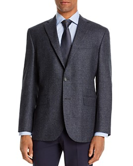 Jack Victor - Jack Victor Micro-Check Regular Fit Sport Coat