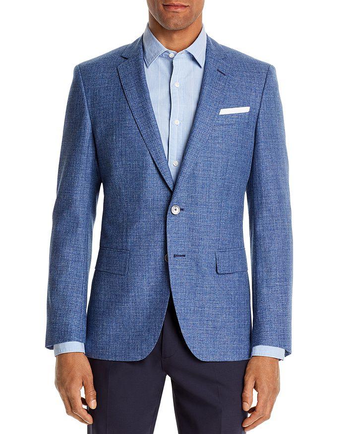 BOSS - Hutsons Textured-Weave Slim Fit Sport Coat