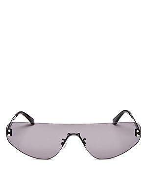 McQ Alexander McQueen Unisex Flat Top Shield Sunglasses, 99mm