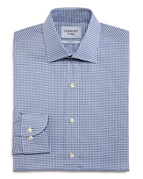 Ledbury - Reed Check Slim Fit Dress Shirt
