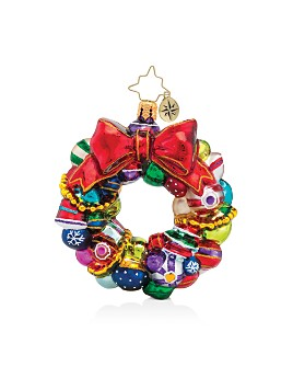 Christopher Radko - Joyful Wreath Little Gem Ornament